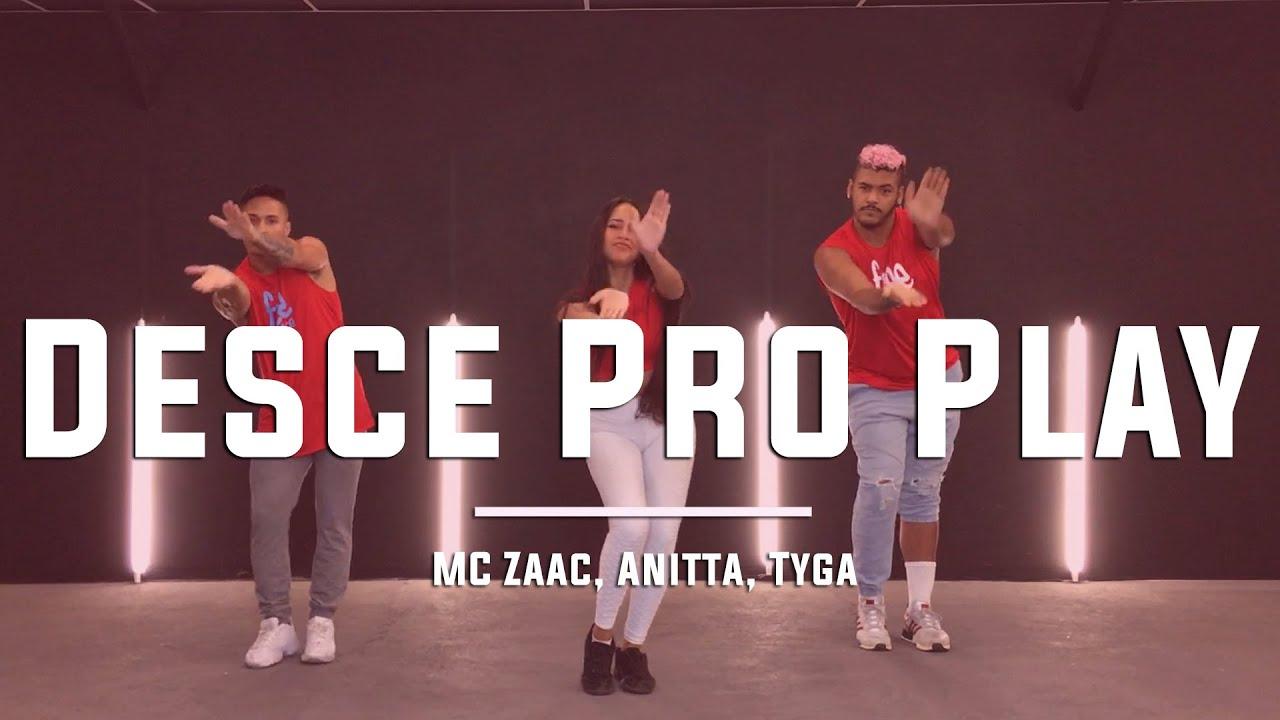Desce Pro Play - MC Zaac, Anitta, Tyga   Coreografia Free Dance   #boradançar