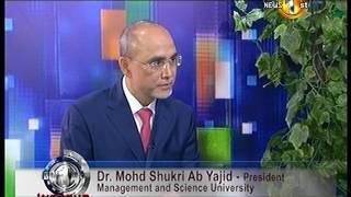 Biz 1st Infocus : Prof. Shukri Yajid - President at MSU (31/01/2017) Thumbnail