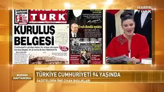 Burası Haftasonu 29 Ekim 2017 (Cumhuriyet Bayramı)
