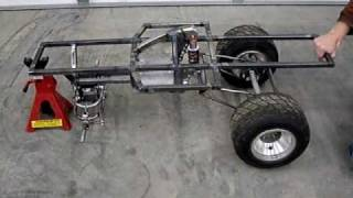 Home Made Giant Scale Rc Car #4, Scratch Built, Giant Scale Rc Car Rear Suspension Movement Test