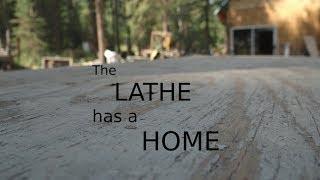 Lathe concrete pad | REDNECK ROBOTIKS