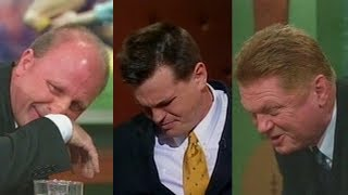 Video TV hosts eat chilis on Live TV - The Footy Show (2001) download MP3, 3GP, MP4, WEBM, AVI, FLV November 2017
