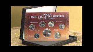 Rare American Coins - American Coin Treasures Unique One Year Rarities