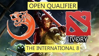 14 MIN GG! MATCH PERTAMA TNC TIGERS DI TI 8 QUALIFIER! TNC TIGERS VS TEAM IVORY HIGHLIGHTS
