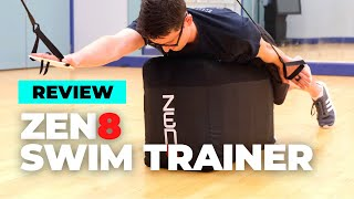 ZEN8 SWIM TRAINER REVIEW | Indoor Swim Trainer for High Elbow Catch!!