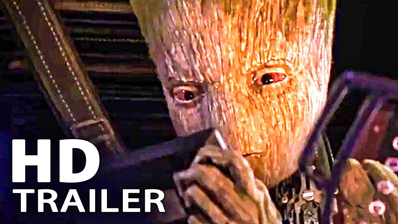 Download AVENGERS: Infinity War Teen Groot Trailer (2018)