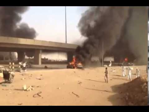 2012 riyadh oil truck explosion Riyadh, (reuters) - at least 22 people were killed when a fuel truck crashed into a flyover in the saudi capital riyadh today, triggering an explosion that brought down an industrial building, saudi.