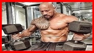The Rock Workout Training - Hercules Dwayne The Rock Johnson Focus Motivation