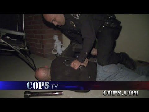 """Frosty the Slow Man, Officer Guillermo """"Willie"""" Bermudez, COPS TV SHOW"""