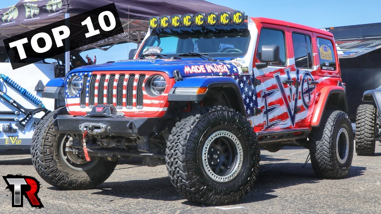 My Top 10 Favorite Jeeps Of Jeep Bash 2018 Youtube