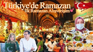 Ramadan in Turkey My First Ramadan Shopping I made Sehari Pakistani Reaction