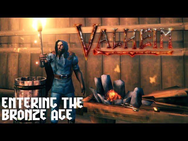 Valheim - Heading for the Bronze Age [Live Stream - Day 6]