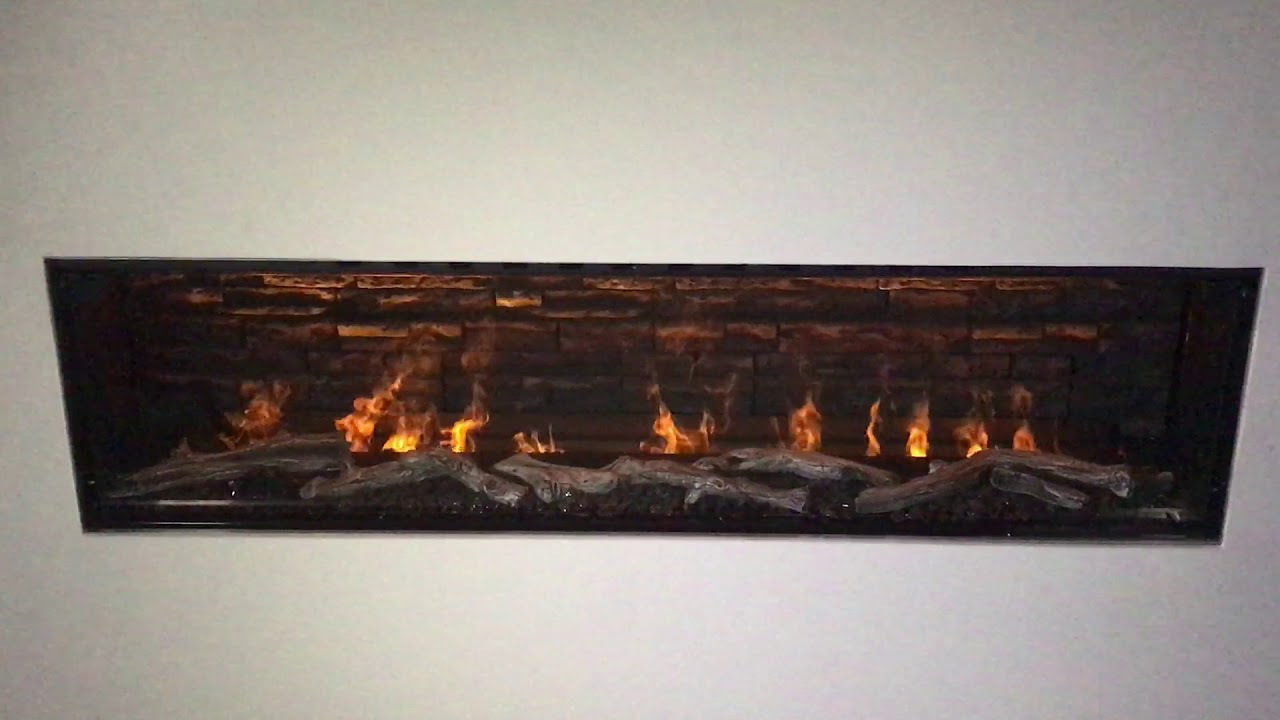 "Modern Flames 76"" Water Vapor Fireplace - Fusion Fire ..."