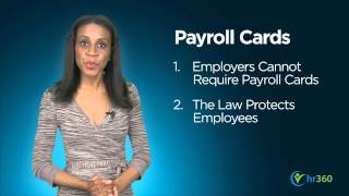3 Things Employers Should Know About Payroll Cards