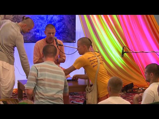 Е.С. Ананда Вардхана Свами, Вриндаван в квартире , 28.07.2018