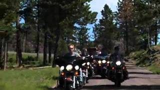 BIKERS AMERICAN DREAM - BLACK HILLS