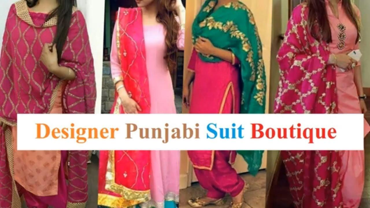 Designer Punjabi Suit Designer Punjabi Suit Boutique