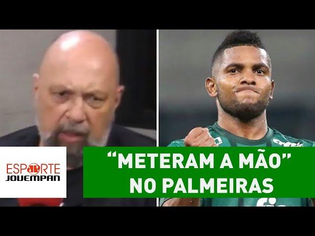 """""""Meteram a mão"""" no Palmeiras, diz Nilson Cesar"""