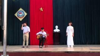 """Tiết Mục """"Đứa Bé"""" - Hiếu Trung ft. Quỳnh Linh [CLB GUITARHÀMRỒNG]"""