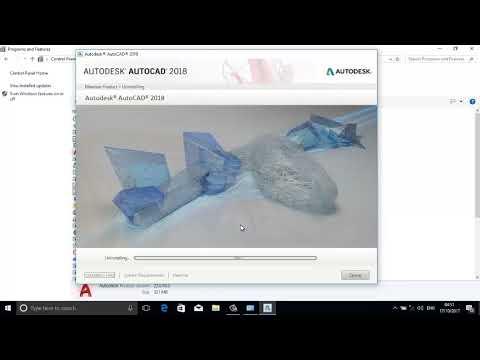AutoCAD 2018-How To Uninstall AutoCAD 2018-YouTube
