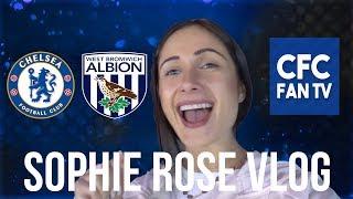Chelsea 3-0 West Brom SOPHIE'S VLOG | Match reactions| Hazard Goal