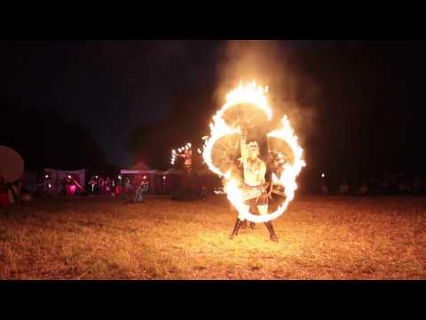 2012 Oregon Country Fair Fire Show