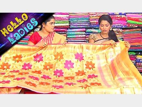 Latest Collections of Chennai silk And Handloom Munga Silk Sarees || Hello Ladies || Vanitha TV