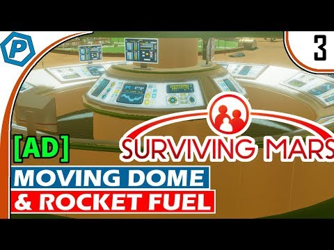 Surviving Mars [Ad] | Second Dome, Better Dome, and Fuel | #
