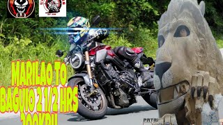 CB650R 2HRS 1/2 MARILAO TO BAGUIO