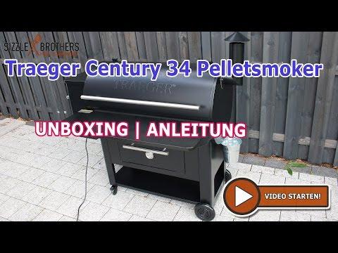 Traeger Century 34 - Pelletsmoker | Pelletgrill | Unboxing