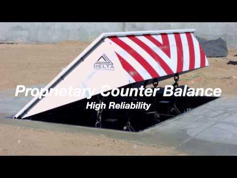 Wedge Barrier | High Security Barricade | Positive Access Control
