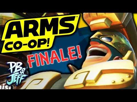 ARMS Grand Prix Co-Op/Multiplayer Gameplay - FINALE! | Nintendo Switch (Part 4)