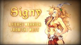Signy - a fierce warrior from the west