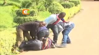 Madiwani wa kaunti ya Murang'a wapigana hadharani