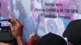 """Gambar cover SPSI Hebatttt.....spt Harimau yg sdh menunjukan TARING.""""kowe dadi piye lan dadi awak ku Pak BOSS"""""""