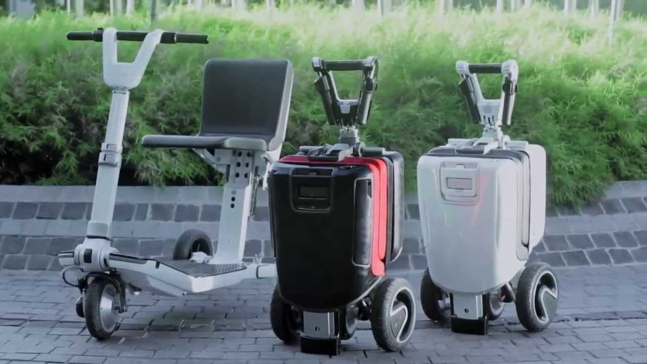 Moving Life The First Transfoldable Mobility Scooter C