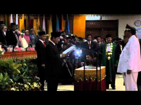ACEHKITA.tv -- Suasana Pelantikan Gubernur Zaini Abdullah