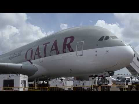 See How Qatar Airways' Airbus A380 Delivers Ultra-Luxurious Air Travel – AINtv