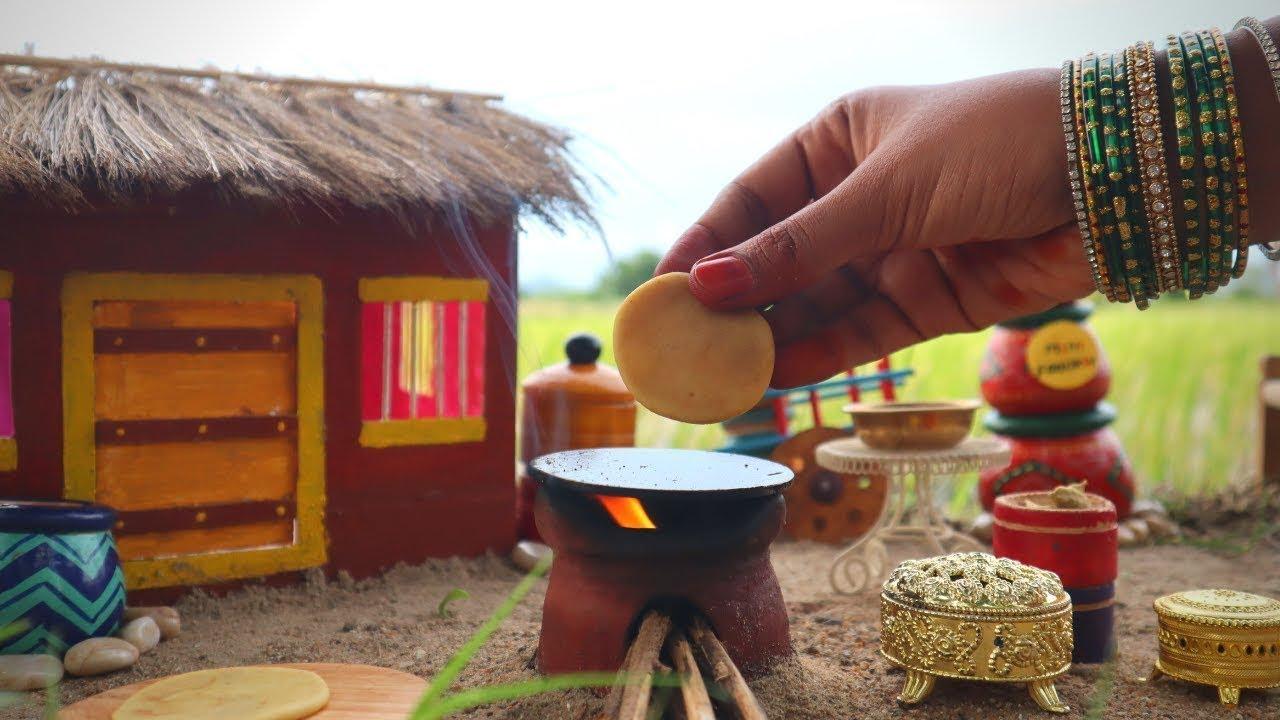 Miniature Maharashtrian Puran poli | Poli Recipe | Mini Foodkey