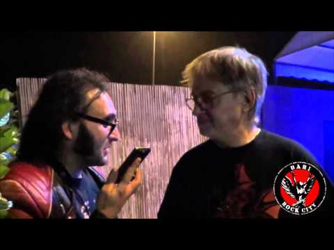 BARI ROCK CITY LIVE - INTERVISTA A CLAUDIO SIMONETTI