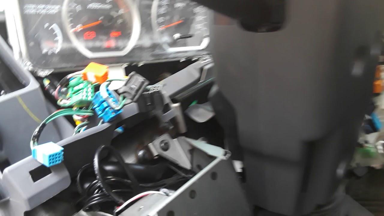 Brake booster light on 2014 Isuzu NQR part1