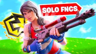 I Played My First Ever Solo FNCS... (Fortnite Battle Royale)