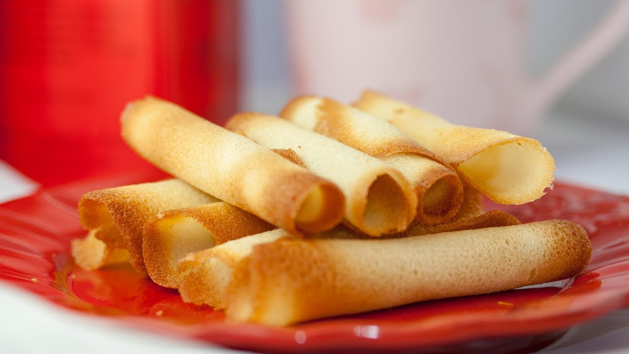How to Make Cigarette Russe  and Tuiles