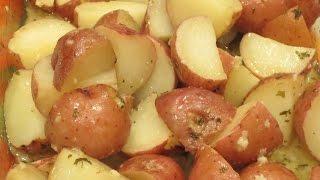Roasted Garlic Red Potatoes