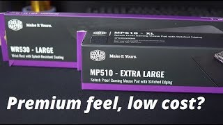 Cooler Master MP510 Mouse Mat and WR530 Wrist Rest Review