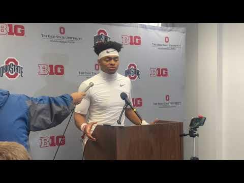 Justin Fields talks Ohio State football's win over Northwestern