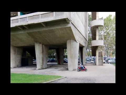 Unité d'Habitation Marseille exterior