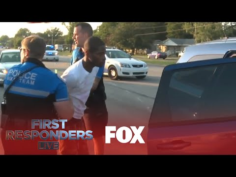 Police Pursuit Ends In Dramatic Crash | Season 1 Ep. 12 | FIRST RESPONDERS LIVE