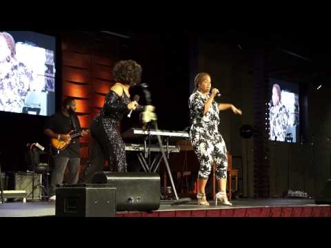 Mary Mary performs together again. Erica...