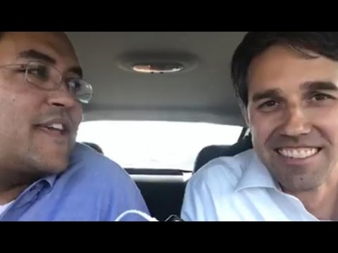 Snow causes Texas Democrat and Republican to hit the road together
